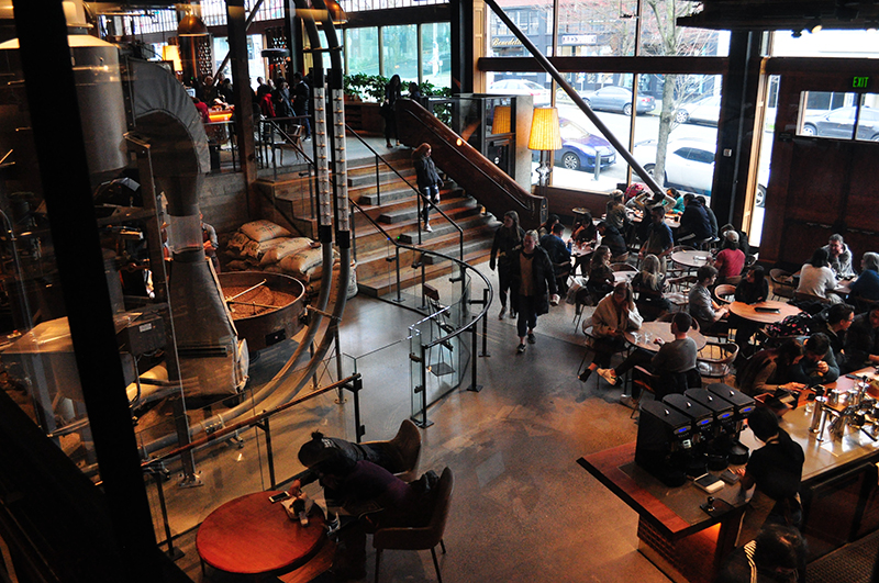 Starbucks Reserve Roastery interior